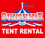 sunshine tent rental
