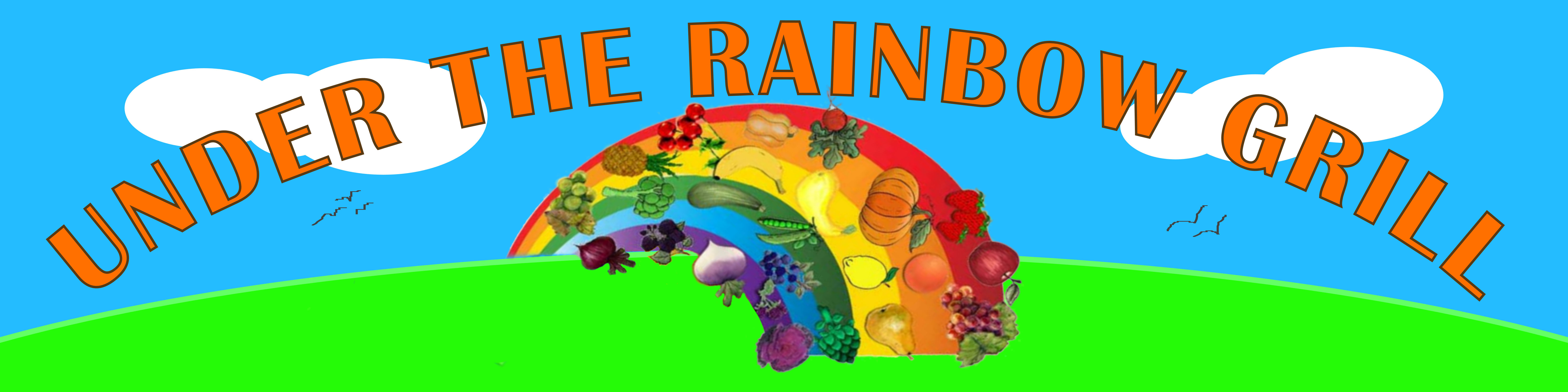 under the rainbow grill banner 02 1x6